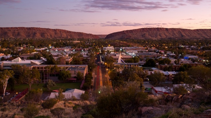 best cities in Australia Alice Springs