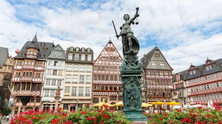 Frankfurt is one of the best cities to visit in Germany