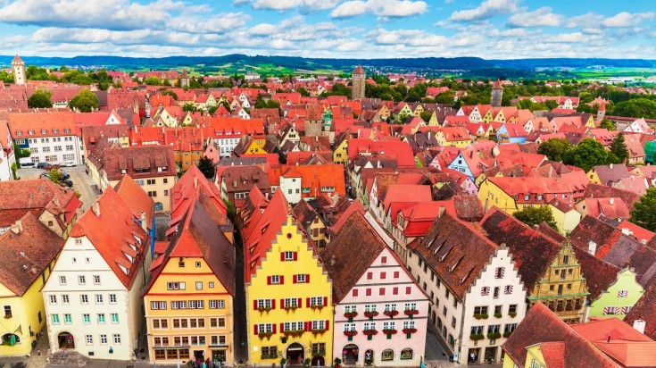 Rothenburg ob der Tauber is one of the best cities to visit in Germany