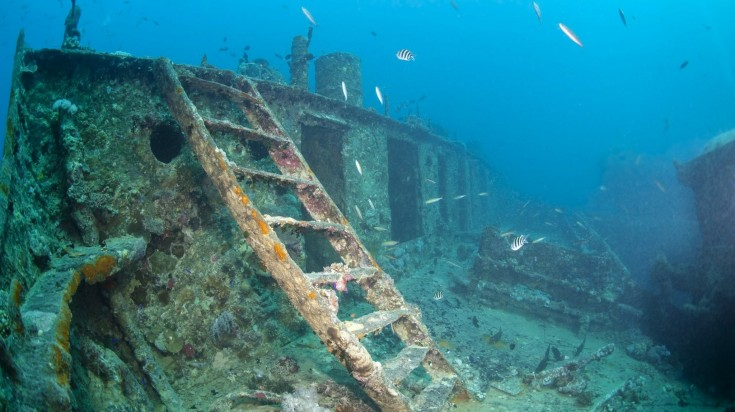 The SS Yongala is one of the best dive sites for shipwrecks.