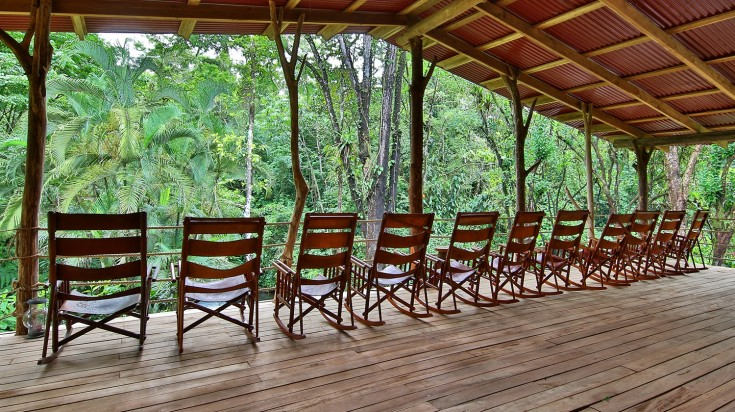 best eco lodges costa rica rocking chairs