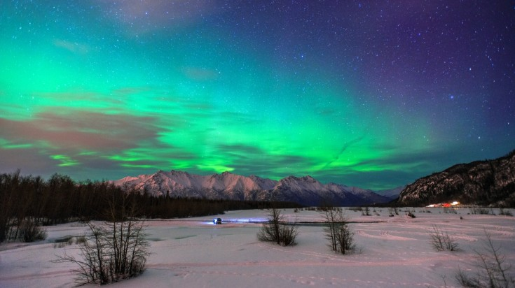 Best places to see the Northern lights Alaska