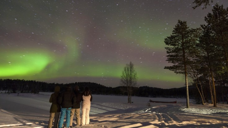 Best places to see the northern lights Finland