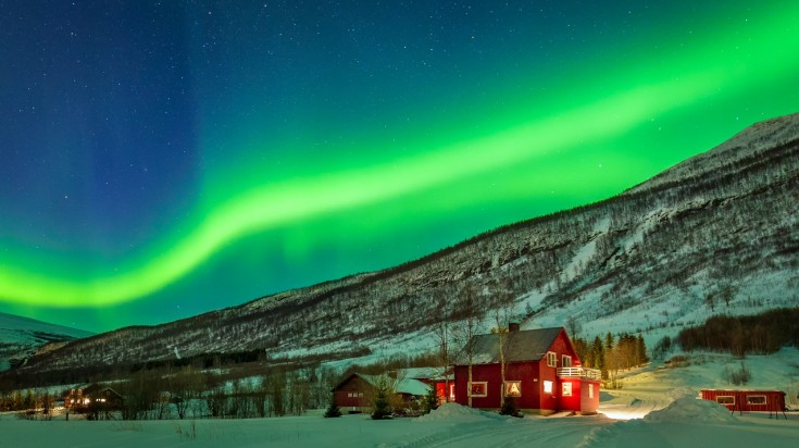 Norway is one of the best places to see the northern lights