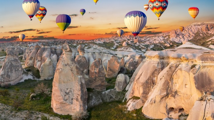 Best places to visit in europe cappadocia