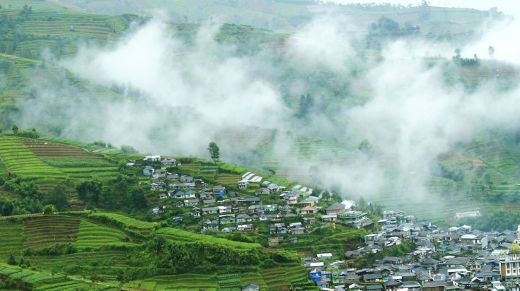 Dieng Plaleau is one of the best places to visit in Indonesia