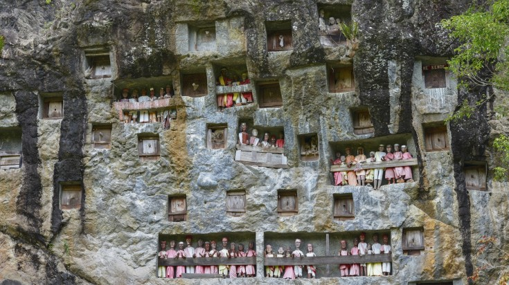 Tana Toraja is one of the best places to visit in Indonesia