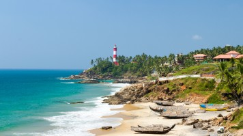 Kovalam is one of the best places to visit in Kerala