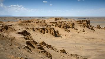 Gobi Desert Road Trip