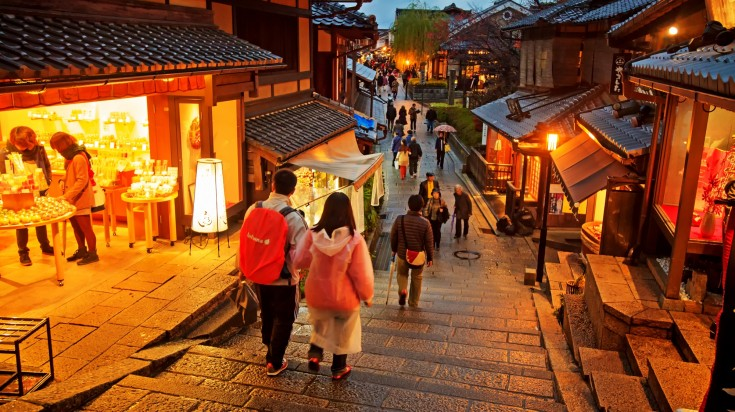 Best romantic holiday destinations Kyoto
