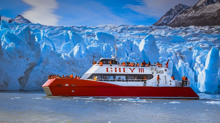 boat tours to experience glacier grey