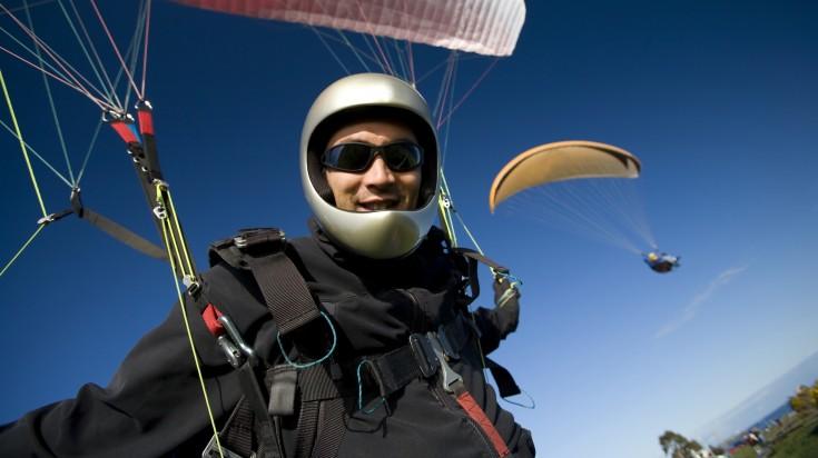 Bogota tandem paraglide