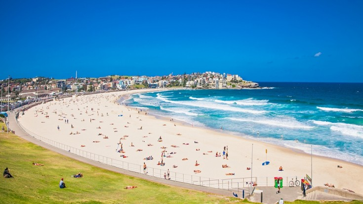 Sydney's Bondi Beach is the ideal place to go in Sydney.
