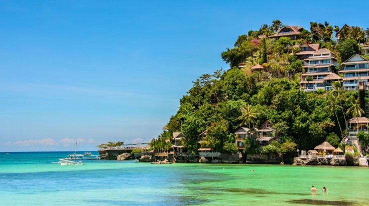 Boracay in Philippines is one of the up and coming destinations in Asia