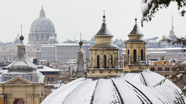 The best time to visit Rome in Winter is in November to December