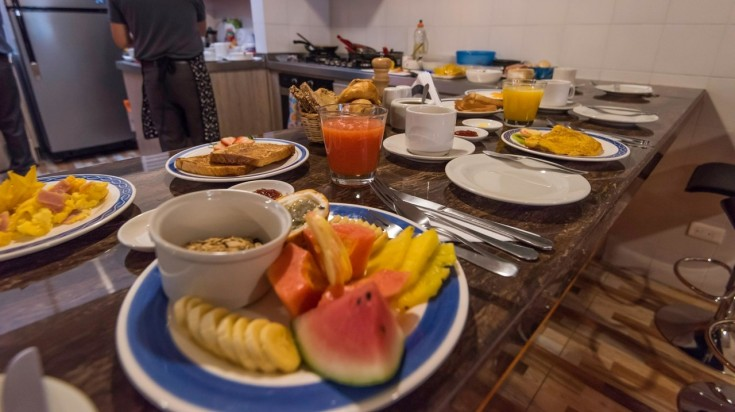 Breakfast at Hotel Frances La Maison
