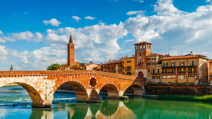 Top cities in Italy, on this list Verona rightfully secures its position
