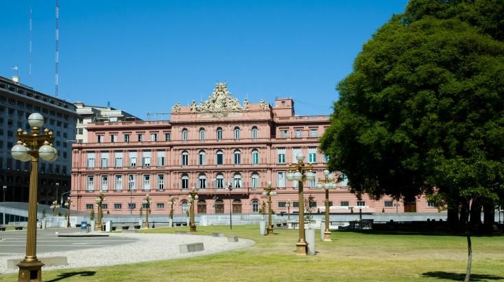 Visit Casa Rosada in Buenos Aires