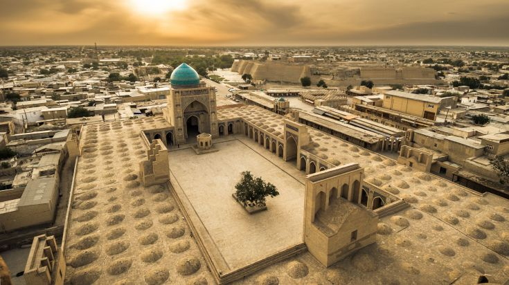 Bukhara, a historic city packed with monuments to gawk at in Uzbekistan