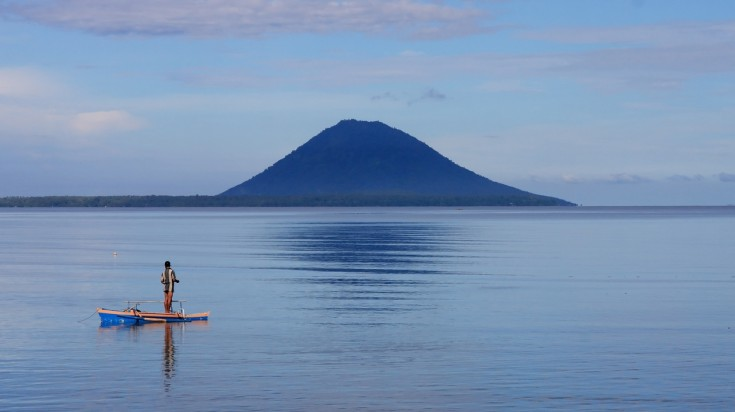 The Indonesian Island of Bunaken is a haven for snorkelers and divers.
