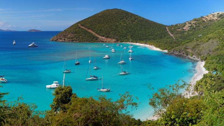 The BVI is where you can find the wreck of RMS Rhone.