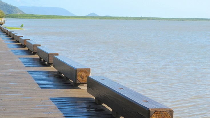 Take a walk on the boardwalk to enjoy a free thing to do in Cairns.