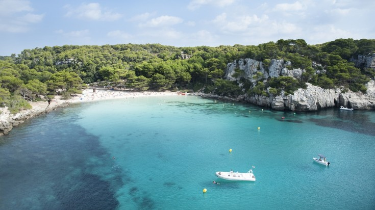 Cala Macarella in Spain is the best beach for an escape
