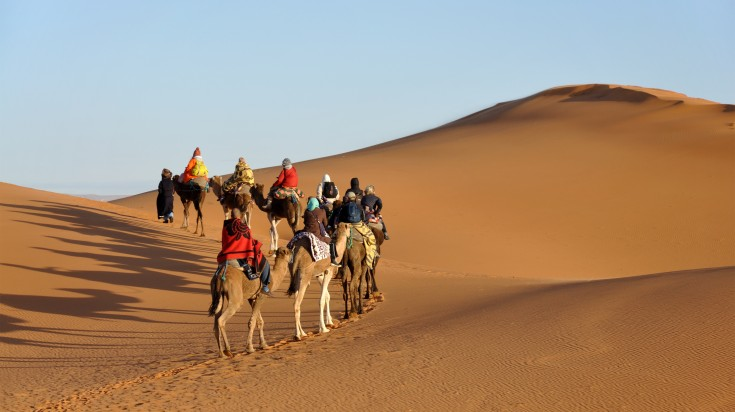 It is a must that you include a camel ride when in Marrakech.