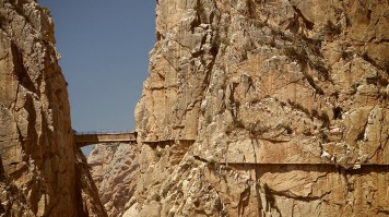 The Chorro Canyon on Caminito del Rey