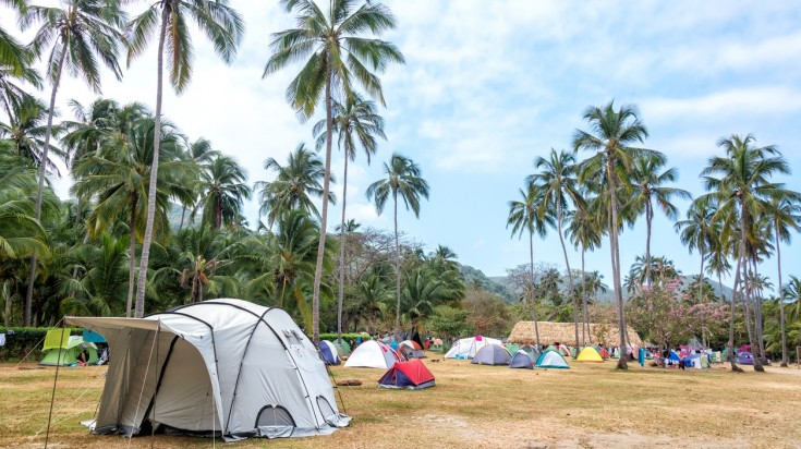 Camping at Tayrona National Park