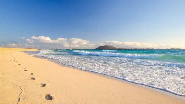 Fuerteventura Beach in the Canaries