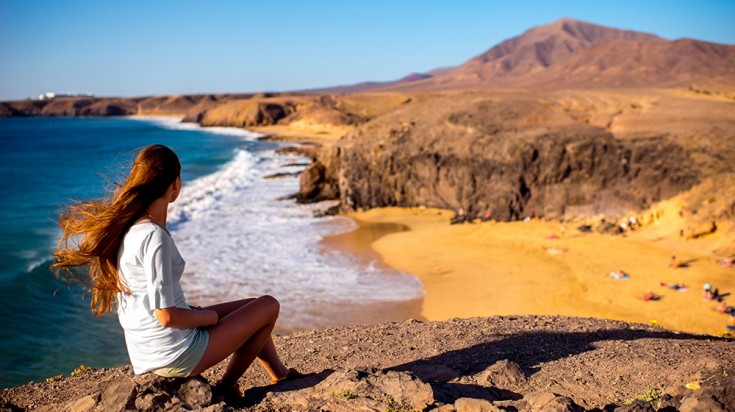 Lanzarote island in the canaries