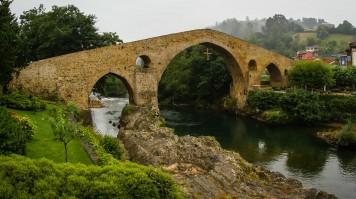 Cangas de Onis in Picos de Europa