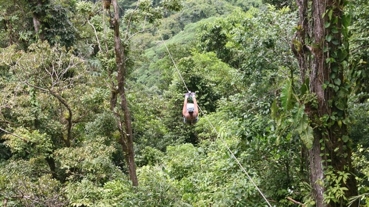 Rincon de la Vieja National Park provides many adventure activities.