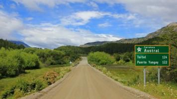 carretera austral in the Aysen Region
