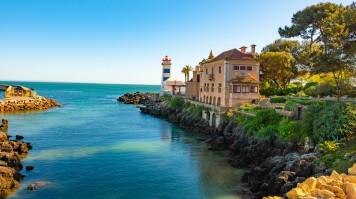 Cascais a Portuguese fishing town is a popular beach resort destination
