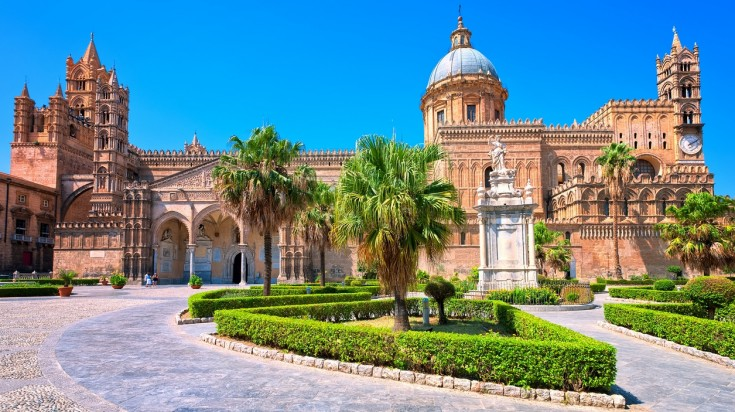 The Cathedral of Palermo is one of the best places to visit in Italy.