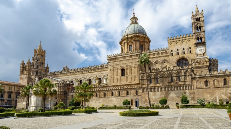 Rich in history, a trip to the cathedral of Palermo is a must visit!