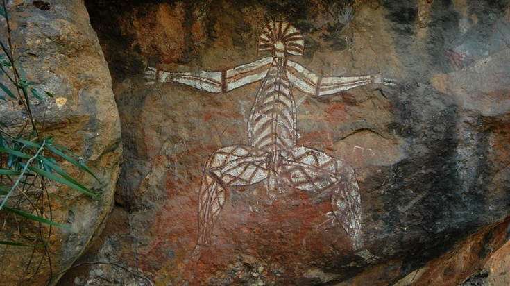 Aboriginal art in Kakadu National Park is valued for its historical detail