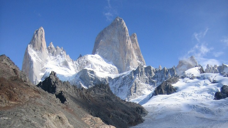 Cerro Fitz Roy in Los Glaciares National Park