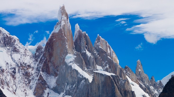 Cerro Torre in Los Glaciares National Park