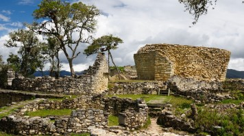 Kuelap ruins in Chachapoyas in Northern Peru