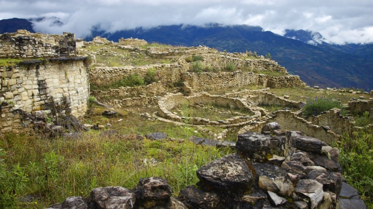 Trekking at Chachapoyas in Northern Peru