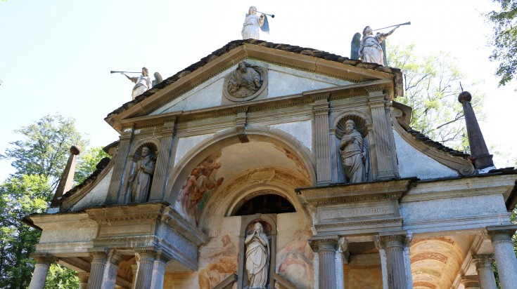 A visit to the UNESCO- liated Sacro Monte Di Orta is a must.
