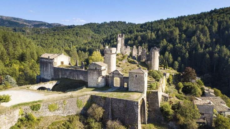 Chateau de Baloigne in Rhone Alpes in France