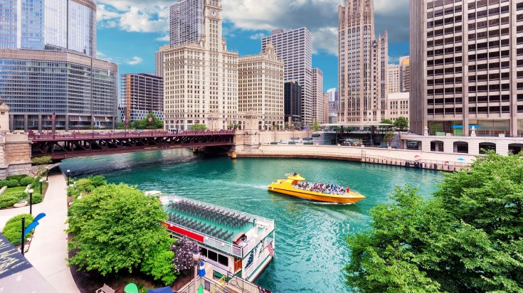 Located in USA, Chicago is one of the most influential city  in the world.