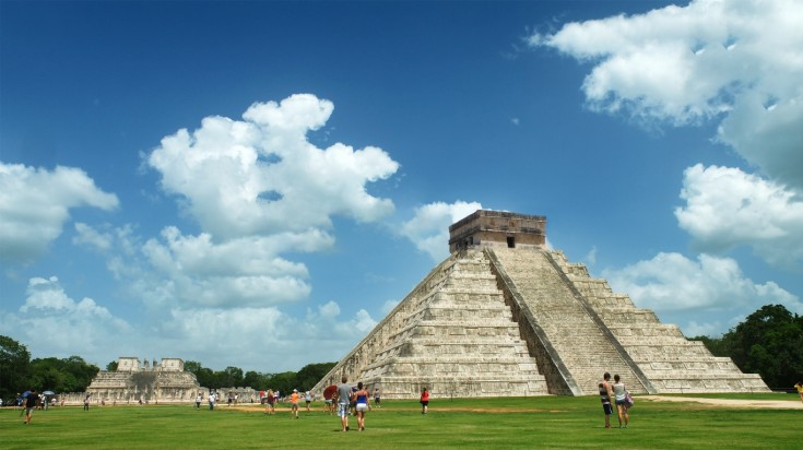 Chichen Itza is an ancient ruin Mayan city built during Classic period.