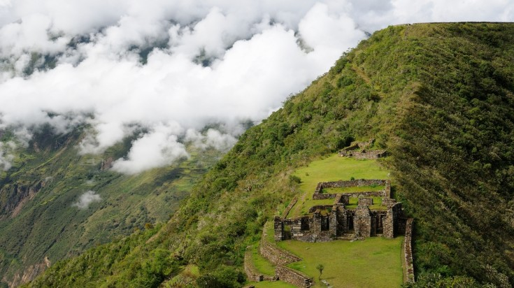 Choquequirao trek will bring you to the famous Choquequirao ruins