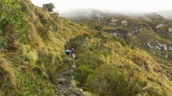 Choquequirao trek trails are difficult with lots of uphill walking