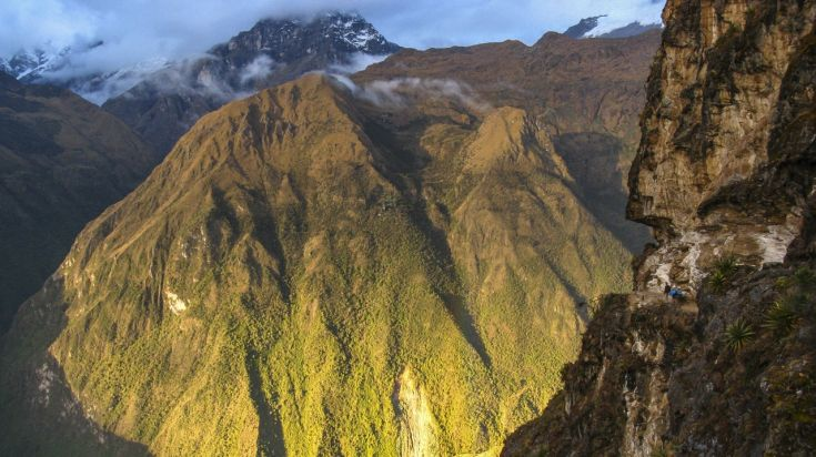 The Yanama Pass in the Choquequirao trek trail